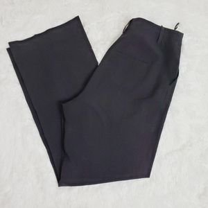 Gerard Darel Black High Rise Wide Leg Pants